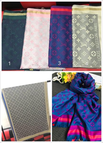 2019 Классический дизайн шарф модный мужской и женский шарф мягкий хлопок шарф 180 * 7 фото