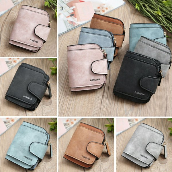 retro vintage women mini wallet card holder clutch coin purse leather handbag purse bag (516646365) photo