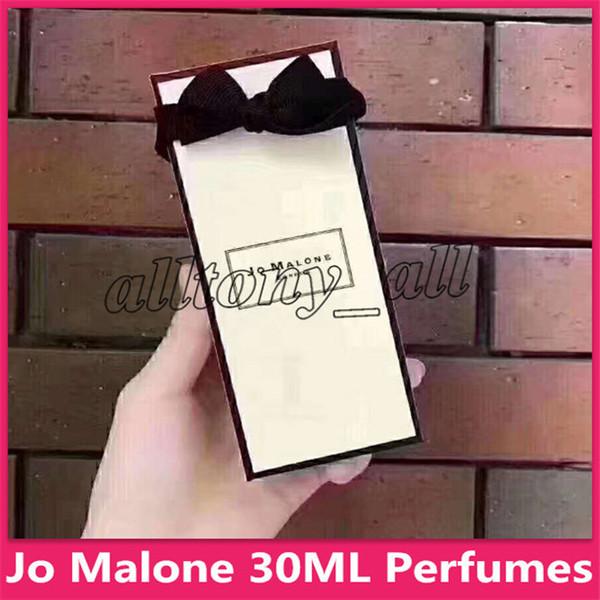 Новый макияж 30 мл Jo Malone Cologne стойкий аромат джентльмена с удивительным запахом портативный набор ароматов