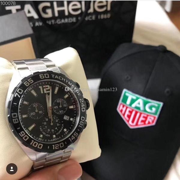 2018 deluxe t ag 316l tainle teel men 039 quartz wri twatch preci e travel time delivery