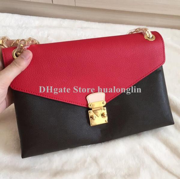 sale discount leather women shoulder messenger bag brand designer purse handbag tote damier checks plaid luxury famous (435715406) photo
