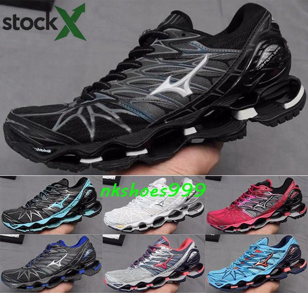 mizunos Wave Prophecy 7 Driving Men size us 12 Zapatillas Athletic eur 46 Black Chaussures Running Shoes Sneakers mizuno Trainers Mens