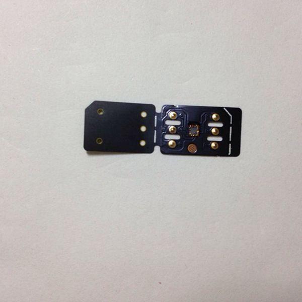 Dhl new black unlock card tm i iccid mode for iphone xr x  max io  12 4 double  im auto pop up menu