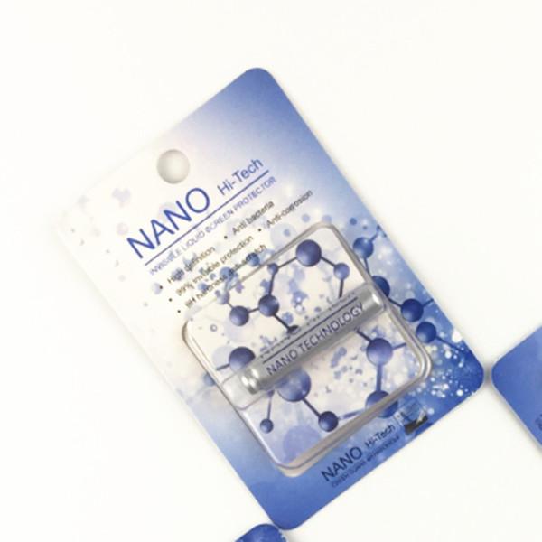 1ml liquid nano technology creen protector for iphone x 7 8 plu am ung 8 plu ipad air 3d curved edge anti cratch tempered gla film