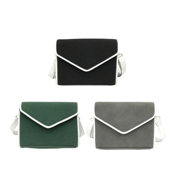 retro pu leather handbags purse women crossbody messenger shoulder bags (510004025) photo