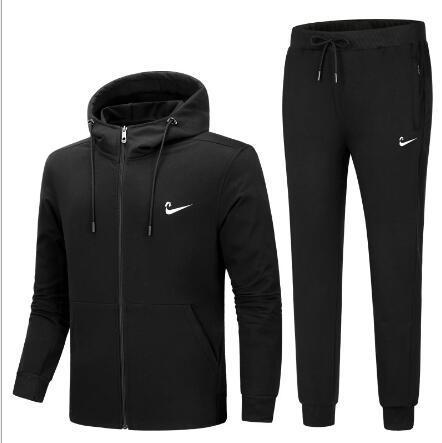 Luxury Tracksuit 2019 Best Version Spring Autumn Mens Designer Tracksuits Print Zipper Suit Tops+Pants Mens Casual Sweatshirt Sport Suits
