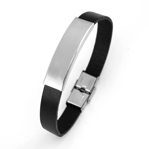 bracelets_en_cuir_pour_hommes_étiquettes_vierges_personnalisé_impression_nom_nom_bracelets_bracelets_en_acier_inoxydable_fermoir_sécurisé_gr