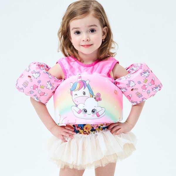 cute cartoon buoyancy vest float life vest puddle jumper swimming pool cartoon life jacket safety float for kids baby
