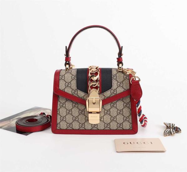Luxury gucci cla ical de igner handbag women houlder handbag color feminina clutch tote bag me enger bag pur e