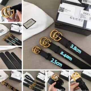 2018 мужские ремни Luxury Pin пряжкиG ремни из натуральной кожи для мужчин дизайнерские
