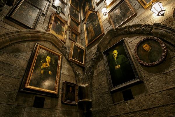 7x5ft Гарри Поттер Хогвартс каменная стена рамка пользовательские фотостудия фон ф