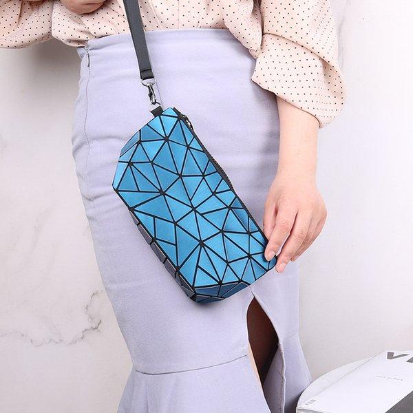 Геометрические макияж сумки для женщин нерегулярные сумки для женщин путешествия складной мешок хранения косметический мешок смешанный цвет бесплатная доставка фото