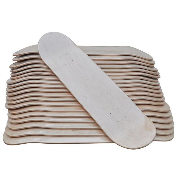 2018 Новое прибытие DIY скейтборд 31 * 8 дюймов пустой скейтборд палуба скейтборд Boarddoub фото