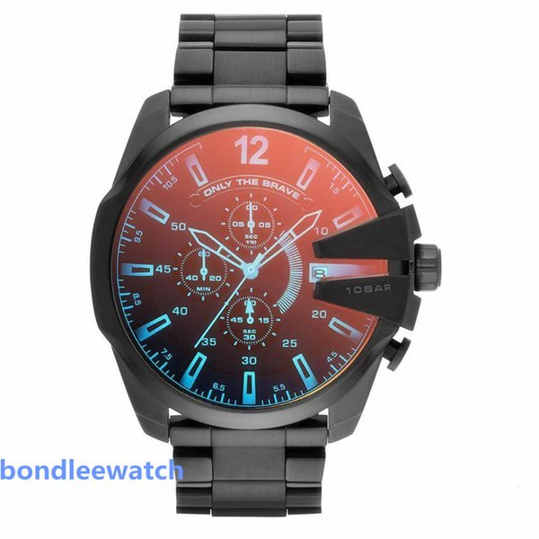 2020 Mens высокого качества Спортивные часы DZ Роскошные мужские часы большой цифербл