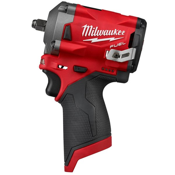 Milwaukee m12 2554 20 12 volt fuel 3 8 inch tubby impact wrench bare tool