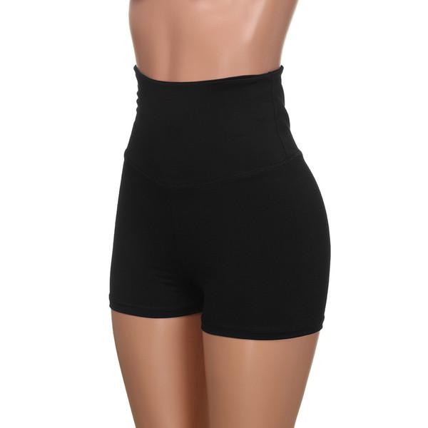 AprilGrass Лето Женщины Высокая Талия Красные Шорты Мода Sexy Bodycon Тренировки Короткие Брюки Feminino Pantalones Mujer Фитнес Мягкая Спортивная Одежда фото
