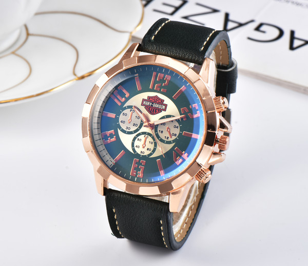 Wholesale AAA +!Luxury men's motorcycle racing quartz watch men's fashion leather watchband sports leisure wrist watch (liangxufei520) Costa Mesa Search and purchase