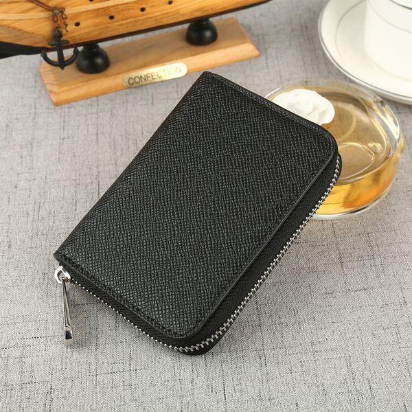 classic short cross wallet card lady's handbag multi-card bit purse women's wallet leather purse zf9633 (450290161) photo
