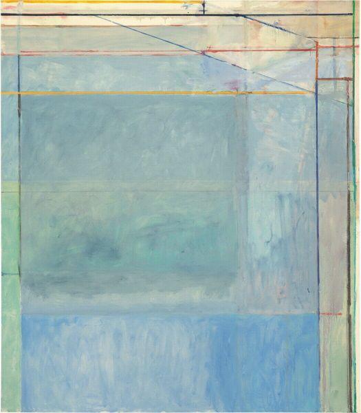 Richard Diebenkorn Untitled Home Decor Handcrafts / HD печать картина маслом на холсте стены искусства картина 191110 фото