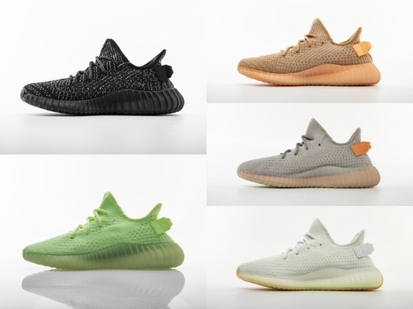 glow in the dark kanyes v2 track father dirty Paris triple Designer Speed Trainer Stretch Sneakers Breathable Men women waking clunky Shoes