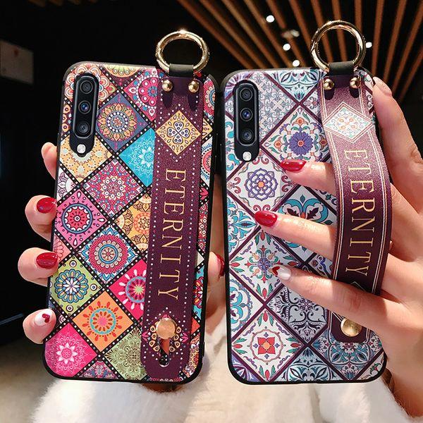 Ремешок для Samsung Galaxy S8 S9 S10 Plus S10e A70 A60 A50 A40 A30 A20 A10 Примечание 8 9 10plus 5G телефон держате фото