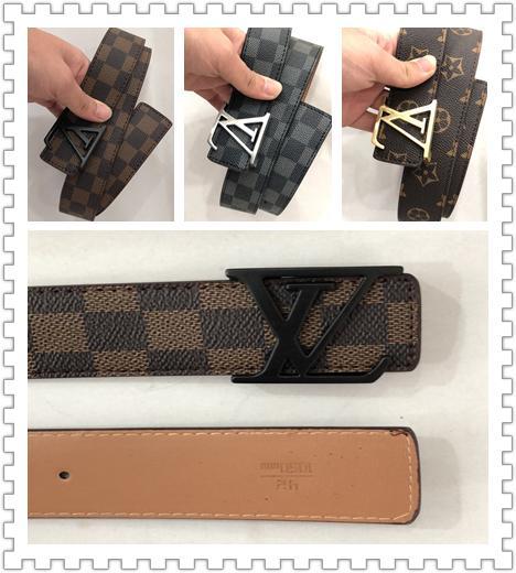 Высококачественный дизайнерский ремень из кожи для мужчин и женщин (XL)