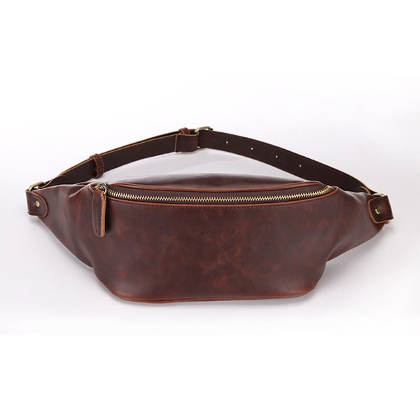 fashion retro men's purses pu leather messenger bag chest bag outdoor leisure sports purses (526944246) photo
