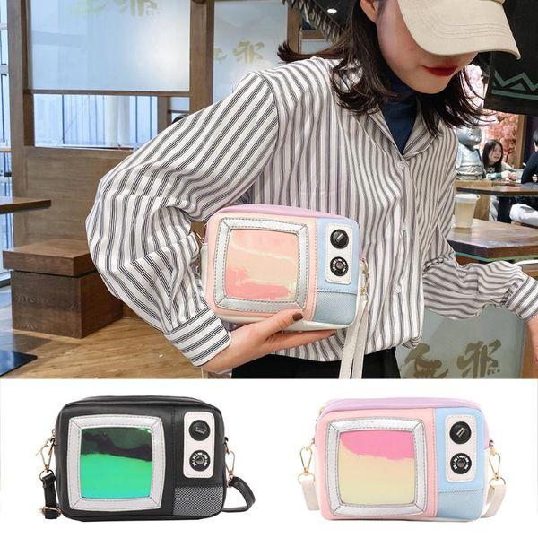 vintage forma tv ombro mensageiro bandoleira sacos mulheres bolsas moda feminina clutch casual totes feminino purse (547514380) photo