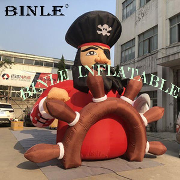 Океан событий гигантский надувной пиратский мультфильм капитан пират для реклам