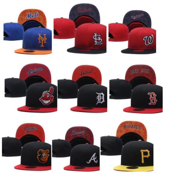 Оптовый заказ смешивания Все команды Snapback Регулируемые кепки Бейсболки