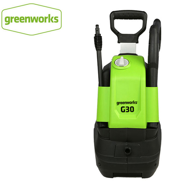 greenworks 220v 1500w max 120 bar 480lph g30 pressure washer household cleaning machine electric car washer with hose reel (534283737) photo