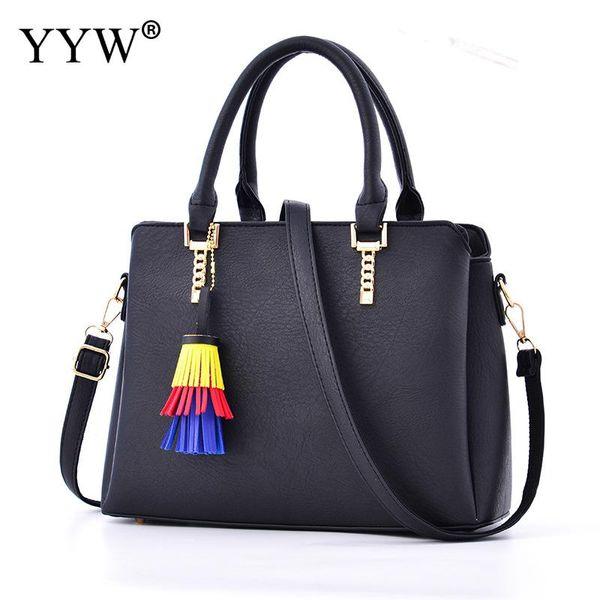 handbags women bags pu leather tassels purses and handbags wholesale crossbody bags for women pochette femme (459152747) photo