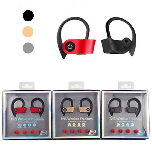 Tw  ear hook  port  earphone  w2 wirele   headphone  mini hifi bluetooth v5 0 earbud wirele   head et  earphone for iphone android