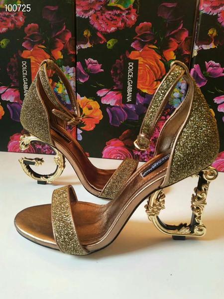 Сандалии на высоком каблуке для женщин, туфли на высоком каблуке из натуральной к фото