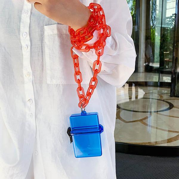 toyoosky clear acrylic clutch purse women transparent plastic box bag girl fashion evening party handbag summer crossbody bags (546036443) photo
