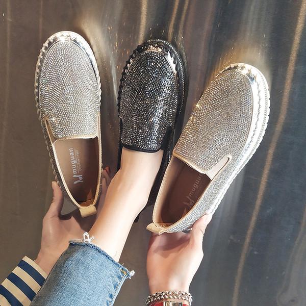 Одиночные туфли мода женщины девушка холст обувь повседневная обувь на плоской п фото