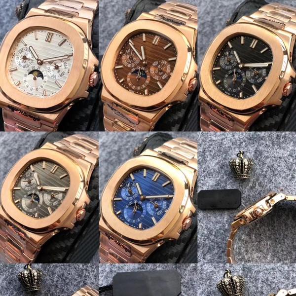 2019 hot PP Automatic machinery 39 мм роскошные часы мужчины подметание движение смотреть все ма фото