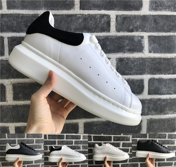 Designer Casual Shoes Women Men Sneakers Oxford Leather Dress Shoes Leisure Street Best Luxury chaussures Trendy Platform Walking Trainers