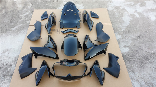 7Gifts 8Colors тела для KAWASAKI NINJA Z1000 07 ~ 09 10R BLK 35NO101 ZX10R 04 ZX1000 C Z1000 Z1000 2007 ~ 09 комплект обтекате фото