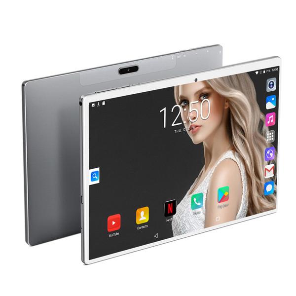 10-дюймовый планшетный телефонный звонок 1920 * 1200 8000mAh 10 Дека Ядро Android 9.0 планшетный фото