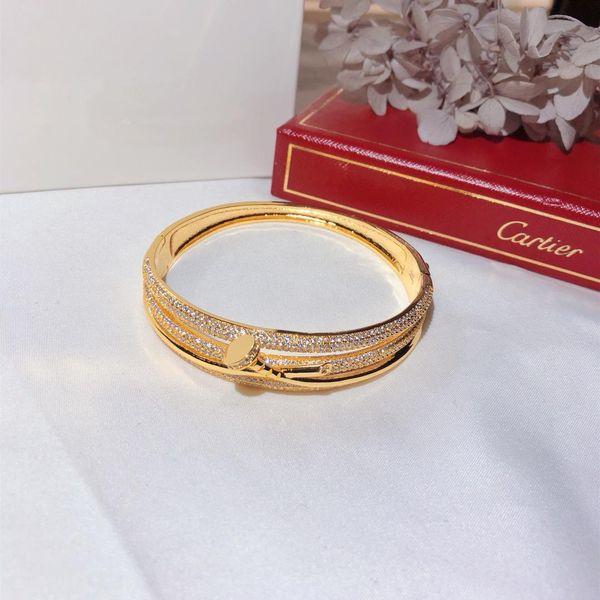 Роскошные дизайнерские украшения для женщин, браслеты из трехслойных ногтей, бри фото