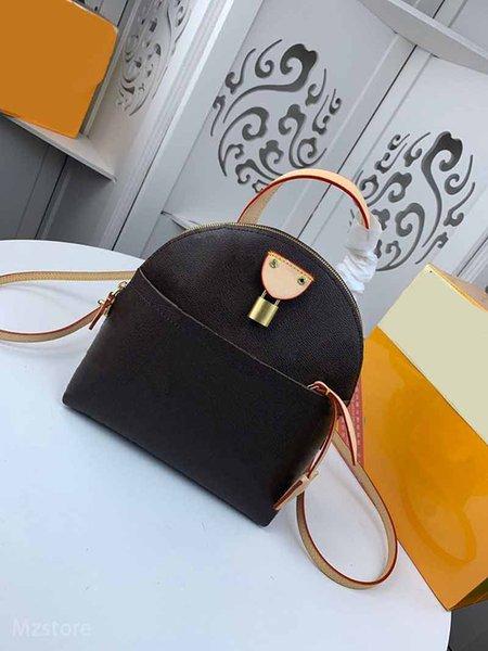 designer backpacks l flower moon backpack ladies purse bag genuine leather backpack purse bag (501655685) photo
