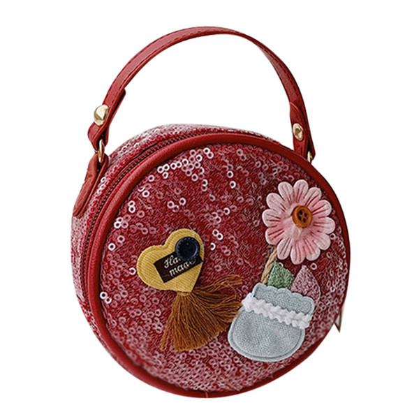 bags for women 2019 fashion girl shoulder bag cute flower sequin chain messenger bag mini coin purse handbag bolsa feminina#25 (508165665) photo