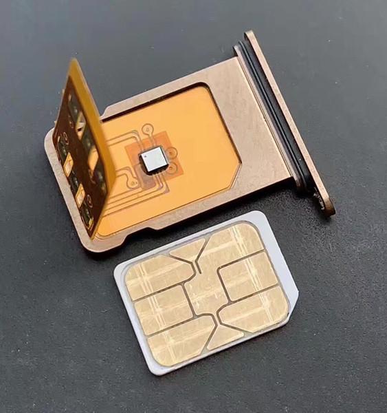 Mk d unlock iphone x  max xr turbo  im chip  for io  12 x  im chip card brand new