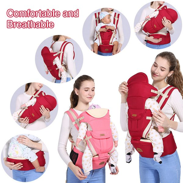 Baby Carrier Wrap Multifunction Baby Carriers Hip Seat Infant Carrier Outdoor Kids Backpacks Toddler Accessories 1-36 Months