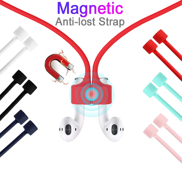 Earphone  trap for airpod  magnetic anti lo t  trap rope  ilicone  torage line headphone  cable for airpod  head et acce  orie