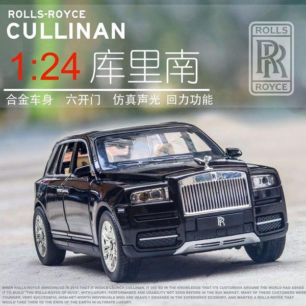 Rolls-Royce Cullinan 1/24 Масштаб Литья Под Давлением Сплава Задержи Автомобиль Коллекционн