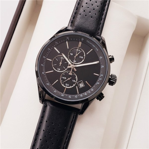 brand Boss All small dial work HUGO watches top luxury mens watches Big dial quartz Stainless steel water resistant sports wristwatches