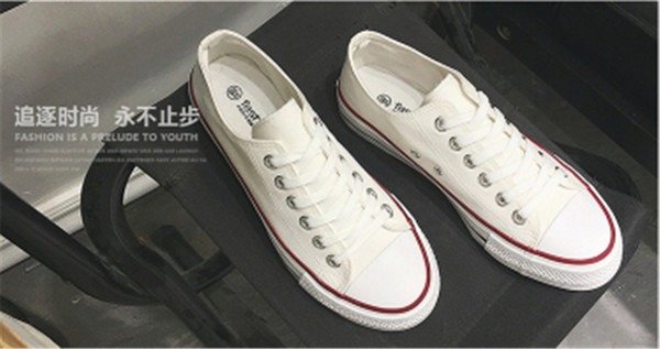 Fashion shoes Old Skool Of Men's/Women's Canvas Sneakers Classic Low-Top shoes Good quality Free shipping