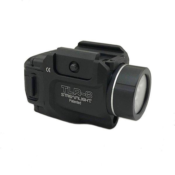 Tactical tlr gun light tlr 8 treamlight low profile led hunting fla hlight with red la er railed pi tol